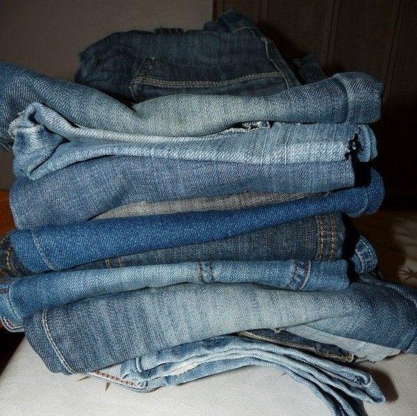 recycler nos vieux jeans. Black Bedroom Furniture Sets. Home Design Ideas